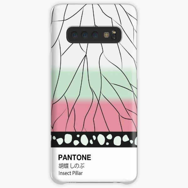 PANTONE Case Demon Slayer Shinobu Kocho Insect Pillar Samsung Galaxy Snap Case