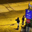 """street workers at 0° by Antonello Incagnone """"incant"""""""