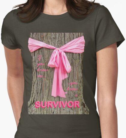 SURVIVOR: Breast Cancer Awareness Tee T-Shirt