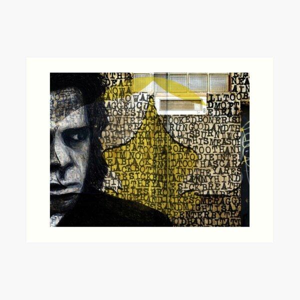 Le siège de la pitié - Nick Cave (Walls Notebook) Impression artistique