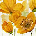 Yellow Poppies by Cherie Roe Dirksen