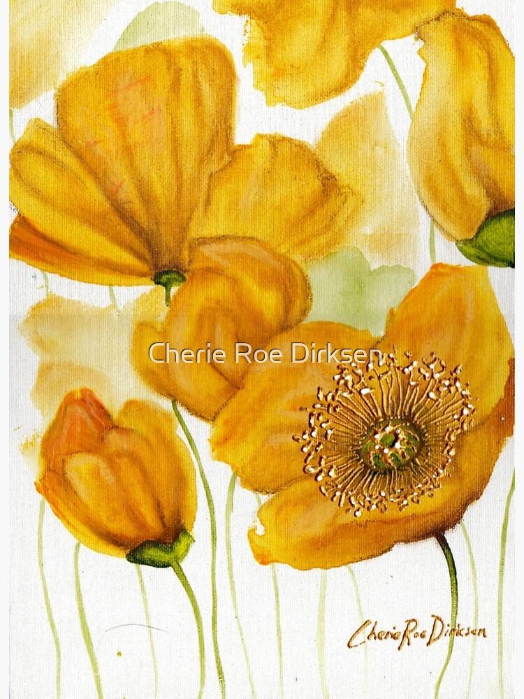 Yellow Poppies by cheriedirksen