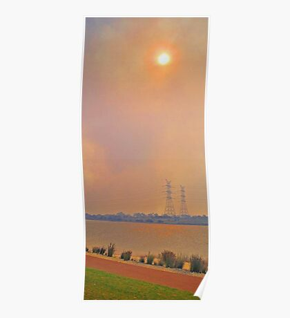 Champion Lakes Bushfire  Poster