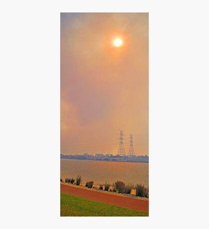 Champion Lakes Bushfire  Photographic Print