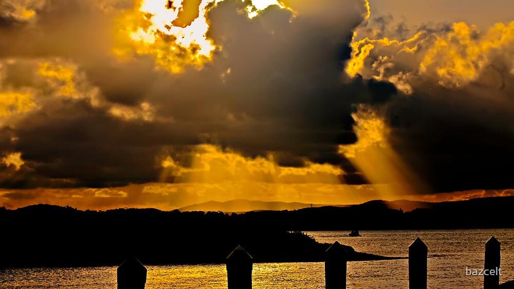 Sky Ablaze by bazcelt