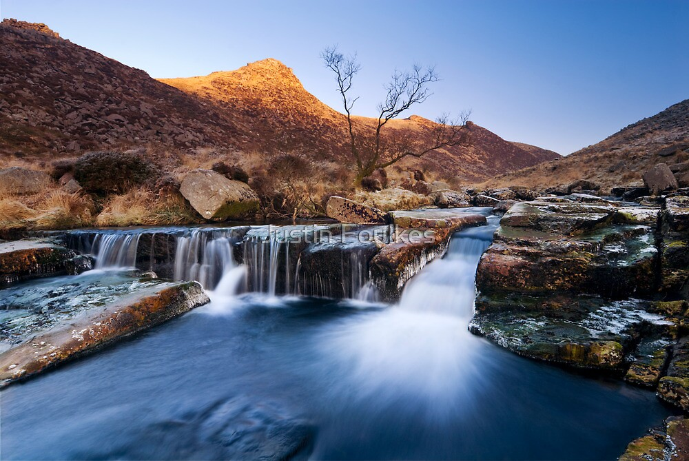 Tavy Cleave, Dartmoor, Devon. by Justin Foulkes