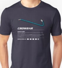 Zombie Weapons - Crowbar Unisex T-Shirt