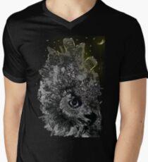 Good night Owl Cty Men's V-Neck T-Shirt