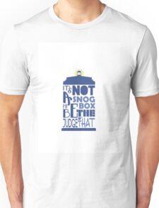 snog box - tardis Unisex T-Shirt