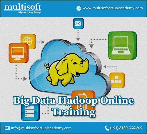 Hadoop online training by Multisoft Virtual Academy