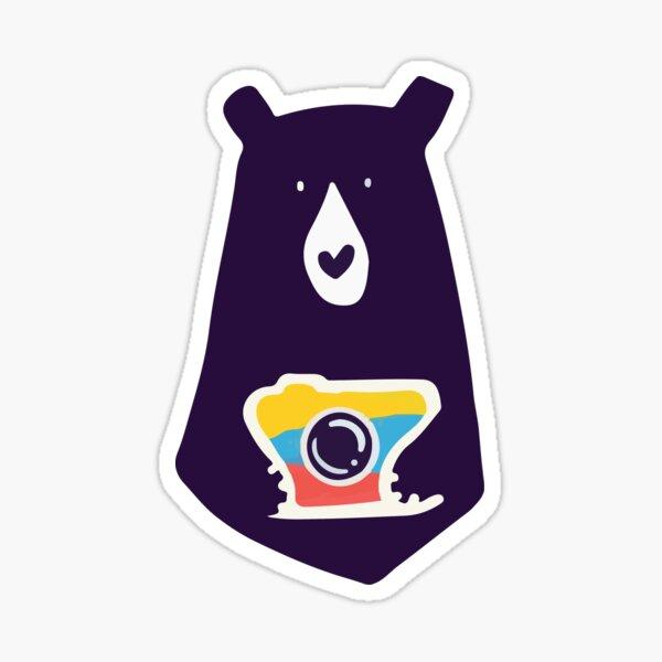 Bearly Photography 2 Sticker