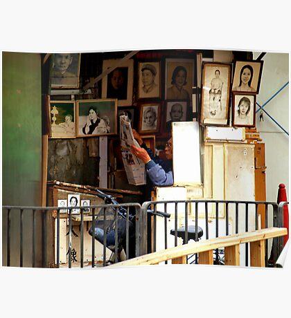 Artist in Residence Poster