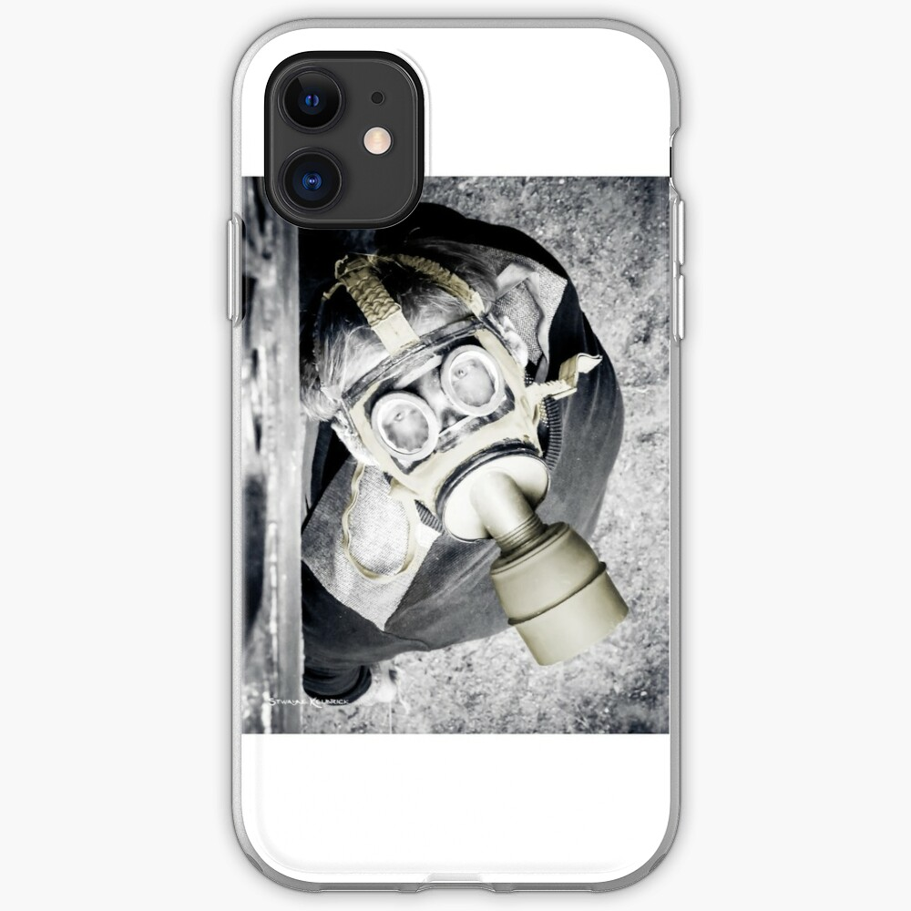 The Gas Mask Guy iPhone Soft Case