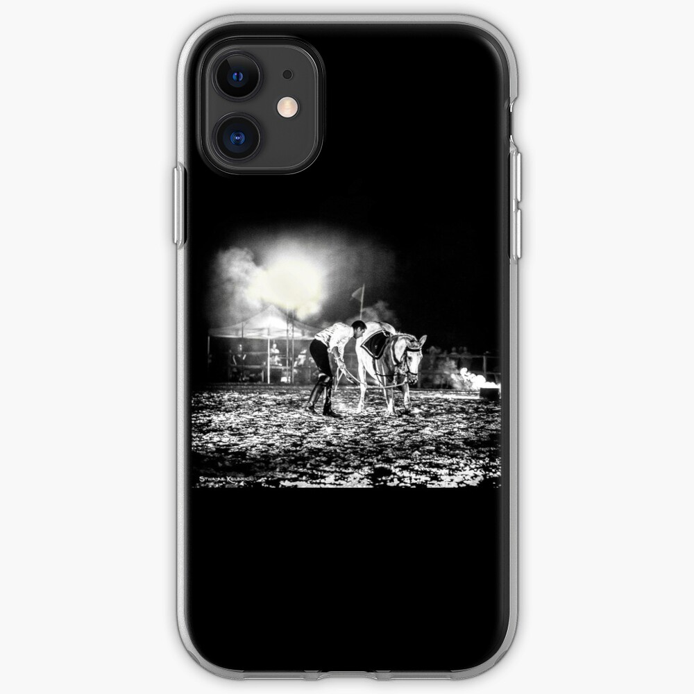 The Horse That Suffered iPhone Soft Case