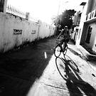 Biking by kvbubble
