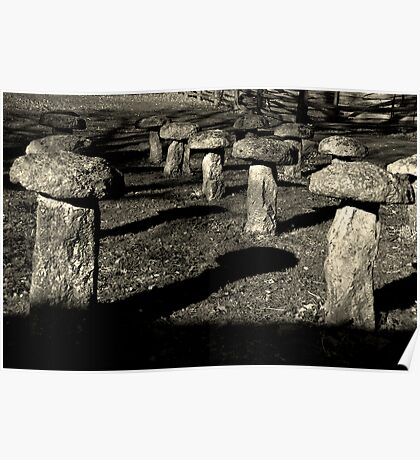Staddle Stones Poster