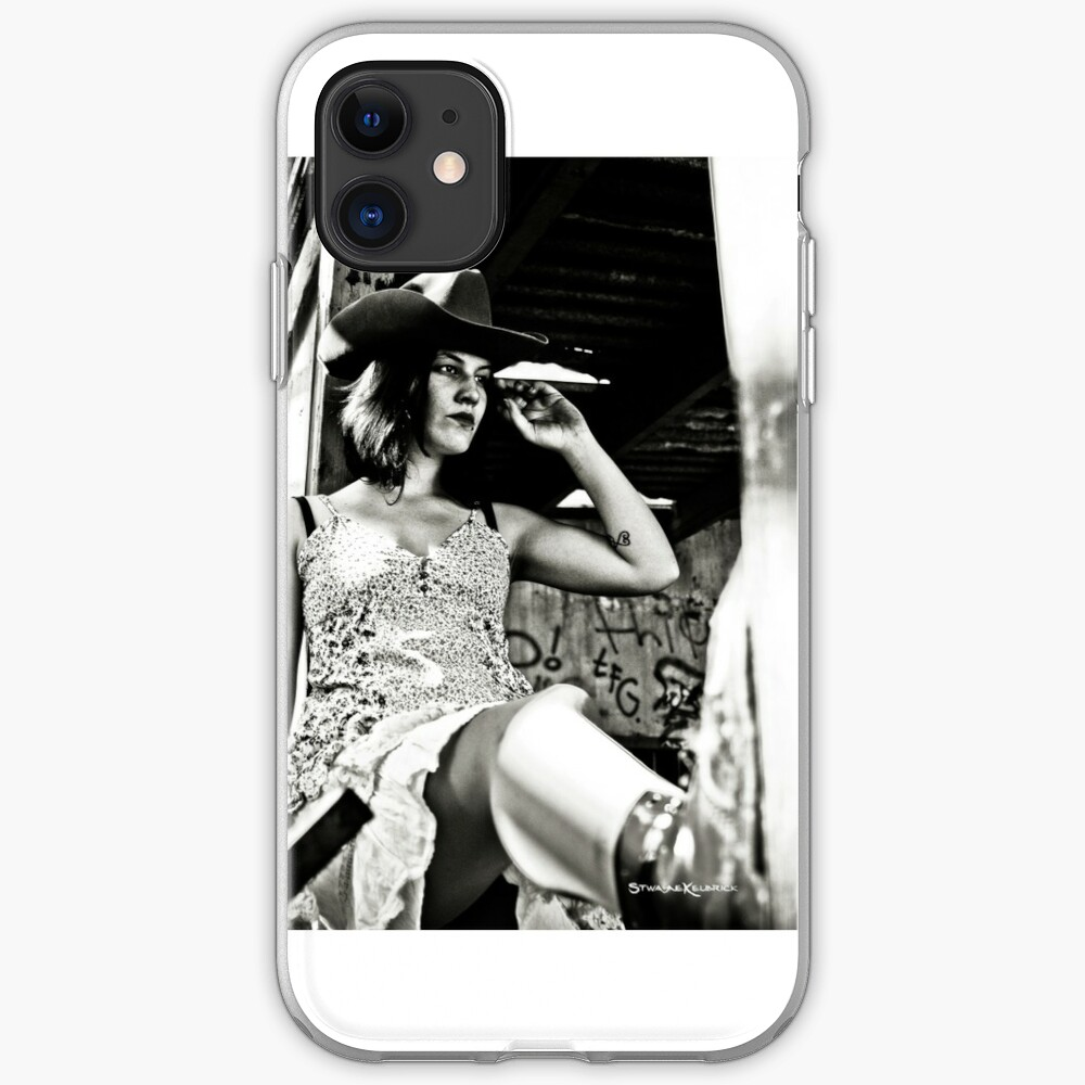 Cowgirl of Dawn iPhone Soft Case