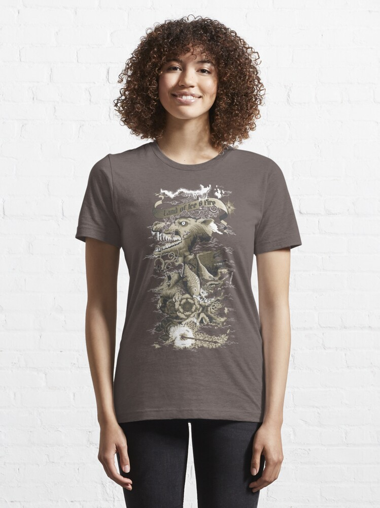 Alternate view of Land of Ice & Fire Essential T-Shirt