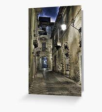 vicolo XIII Greeting Card