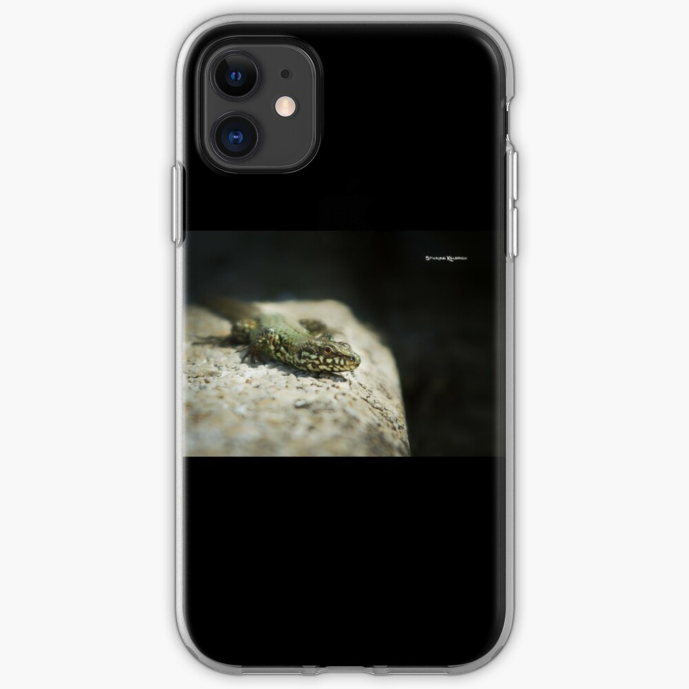 The Lizard King on The Spot iPhone Soft Case
