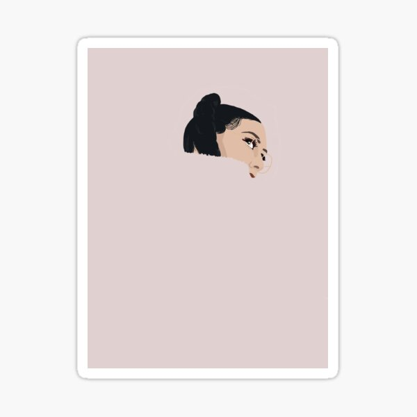 Qveen Herby Sade in the 90's Sticker