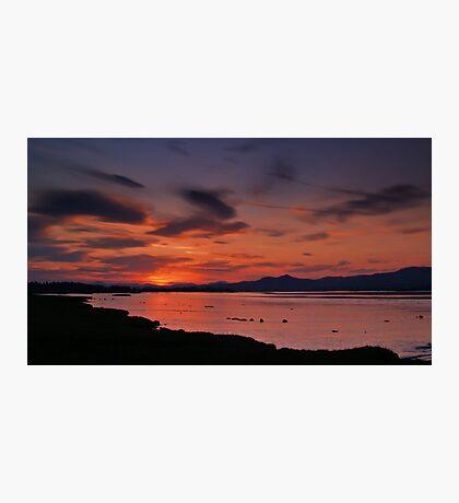 Spring Sunset 3 Photographic Print