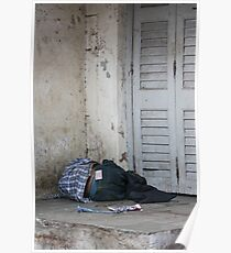 Poverty With Fake Levis, Ahmedabad, Gujurat, India Poster