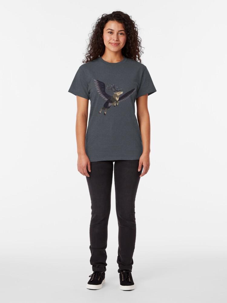 T-shirt classique ''Peryton': autre vue