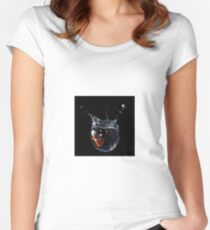 Drop! Women's Fitted Scoop T-Shirt