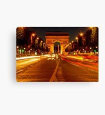 Arc De Triomphe (Paris, France) Canvas Print