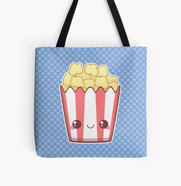 Popcorn! All Over Print Tote Bag