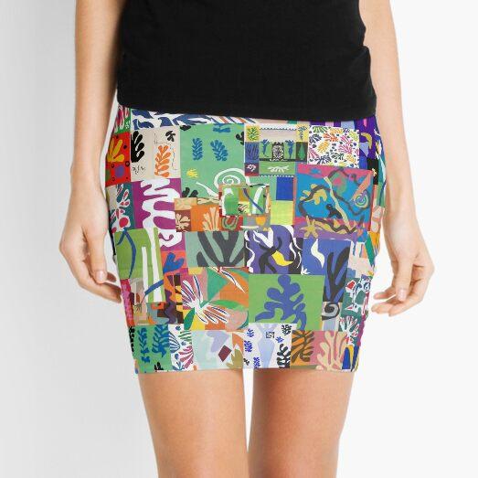 Henri Matisse Cutouts Mini Skirt