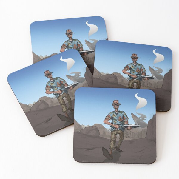Ride the Wave Coasters (Set of 4)