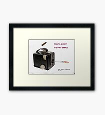 It's That Simple! Framed Print