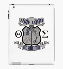 time lord academy  iPad Case/Skin