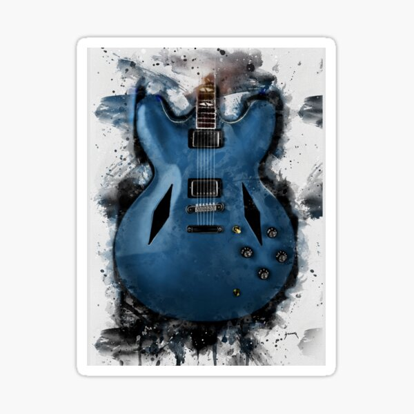 Dave Grohl's electric guitar Sticker