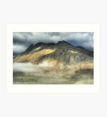 The Pub Under The Pikes Art Print