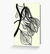 The leaves, the fruits and the flowers Greeting Card