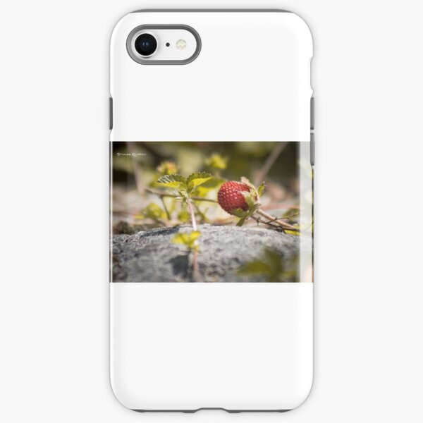 The lonely strawberry iPhone Tough Case