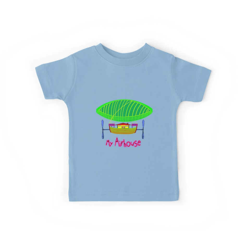 My Airship/Airhouse T-shirt, etc. design by Dennis Melling