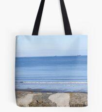 Shanklin Beach Tote Bag