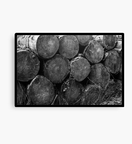 Tree Ends Canvas Print