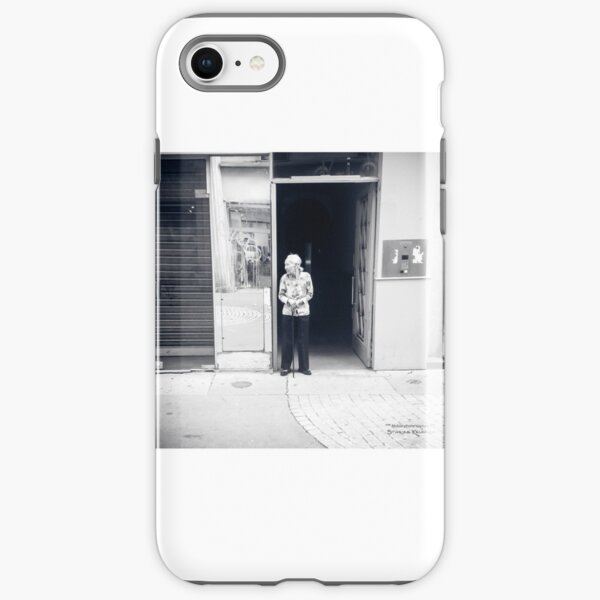 A sweet chinese life in the street iPhone Tough Case