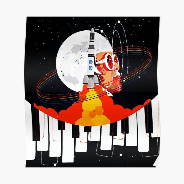 BEST SELLER MUSICIAN PIANO MAN REGINALD KENNETH ELTON DWIGHT JOHN Poster