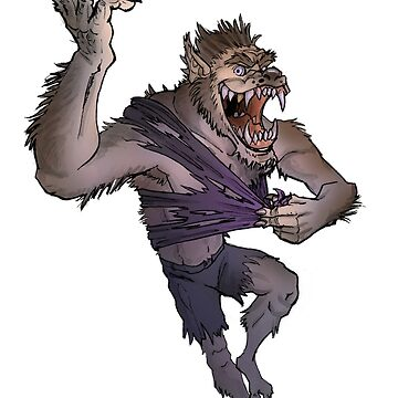 Werewolf Transformation Without Background by hamstertoybox