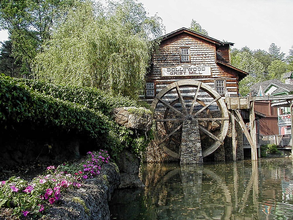 Dollywood Grist Mill, Pigeon Forge  by ✿✿ Bonita ✿✿ ђєℓℓσ