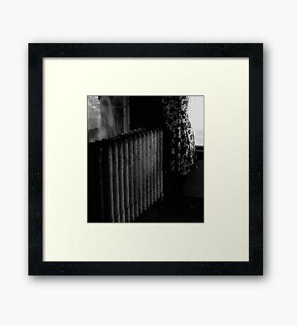 For Francesca Woodman, Portrait of Myself Framed Print