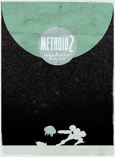 Minimalist Video Games: Metroid 2 by colorlust