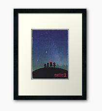 Minimalist Video Games: Mother 2  Framed Print