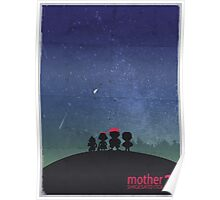 Minimalist Video Games: Mother 2  Poster